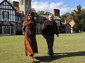 Cristina Fernandez con Jose Mujica