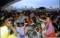 Crowd - Dinosaurs Alive Exhibition - Science City - Calcutta 1995-June-July 529.JPG