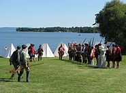 Crown Point NY historical reenactment