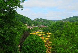 Gulliver's Kingdom - Image: Crows Nest Quest Hills
