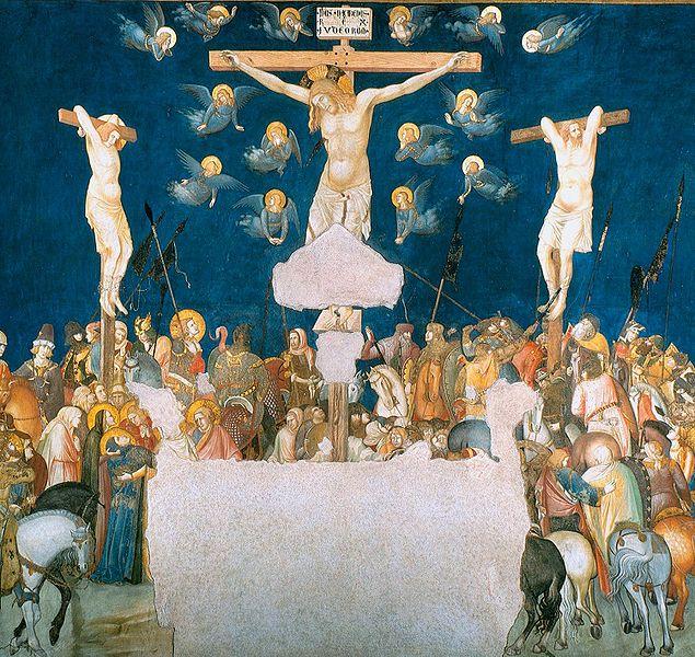Pietro Lorenzetti, Ukrzyżowanie Jezusa, ok 1320 r.