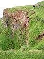Crumbling cliffs - geograph.org.uk - 477407.jpg