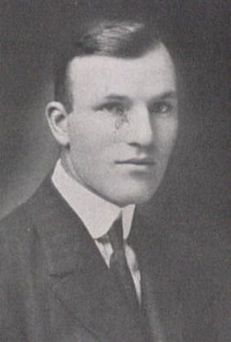 B. C. Cubbage - Cubbage pictured in La Vie 1918, Penn State yearbook