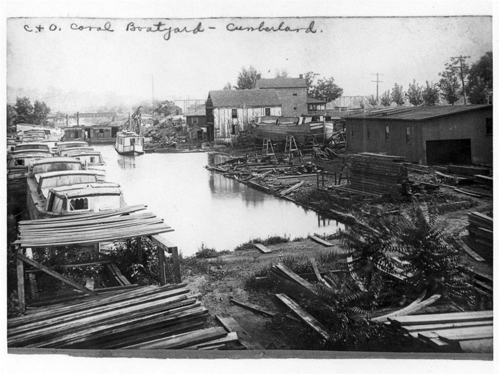 Cumberland Boatyard Chesapeake and Ohio Canal
