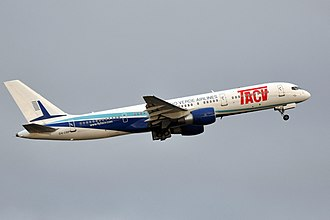 Cabo Verde Airlines - A Cabo Verde Airlines Boeing 757-200.