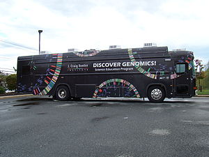 J. Craig Venter Institute - Educational Bus near J. Craig Venter Institute in Rockville, Maryland