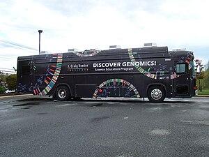 J. Craig Venter Institute - Educational Bus near J. Craig Venter Institute in Rockville, Maryland