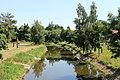 Dačice, Masarykova, Moravská Dyje z mostu (2013-07-24; 01).jpg