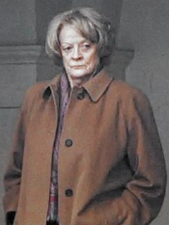 Maggie Smith British actress