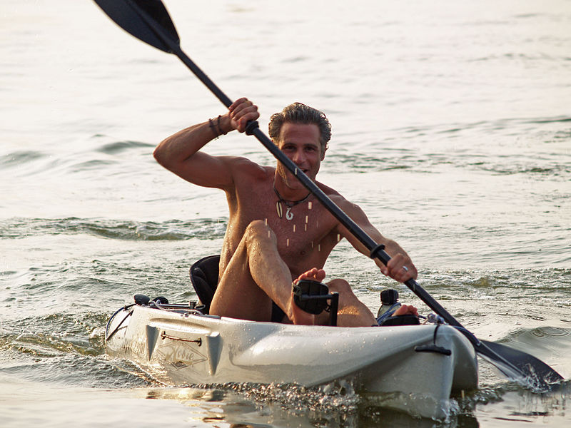 File:Dan Kayaking in the Great South Bay (2838644890).jpg
