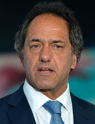 2015 Argentine general election - Image: Daniel Scioli October 2015