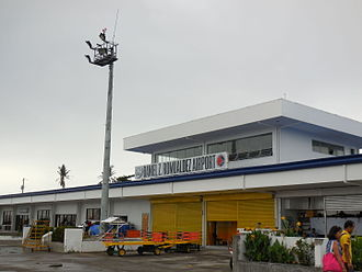 Daniel Z. Romualdez Airport - Exterior of Daniel Z. Romualdez Airport as of June 2015