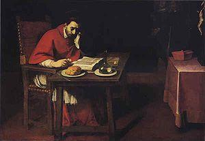 Daniele Crespi - Image: Daniele Crespi Supper of St Carlo Borromeo