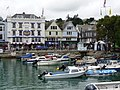 Dartmouth, the marina and the Royal Castle Hotel - geograph.org.uk - 1468086.jpg