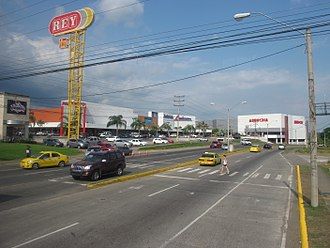 Pan-American Highway - Pan-American Highway at David, Chiriquí