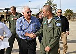 David Friedman visit to Nevatim Air Base, December 2017 DSC 1906P (38982673251).jpg