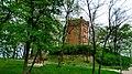 Dawna wieża widokowa. Wieżą została wybudowana w 1902 r. przez miejscowego budowniczego Otto Münchau, według własnego projektu. - panoramio.jpg