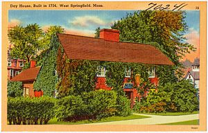 Josiah Day House - Historic postcard
