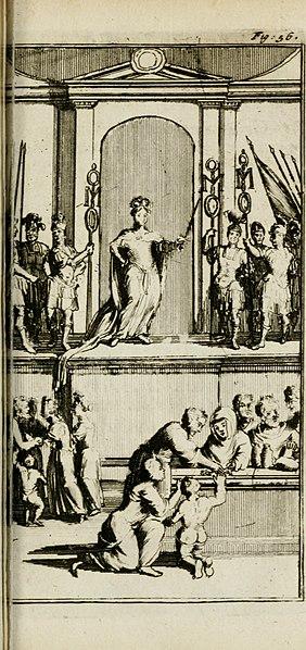 File:De konincklycke triumphe - vertoonende alle de eerpoorten, met desselfs besondere sinne-beelden, en hare beschryvinge, ten getale van in de 60, opgerecht in s' Gravenhage 1691 ter eere van Willem de (14747675052).jpg