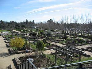 Copia (museum) - Copia's vegetable and herb garden, 2007