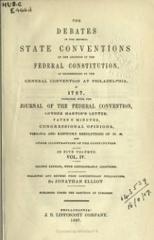 Debates in the Several State Conventions, v4.djvu