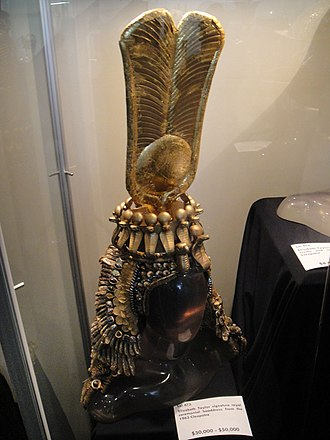 Irene Sharaff - Headdress for Elizabeth Taylor in the title role of Cleopatra (1963), which won another Oscar for Sharaff.