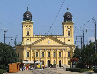 Reformed Church in Hungary - Reformed Great Church of Debrecen in Debrecen, Hungary
