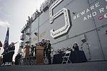Decommissioning of the amphibious assault ship USS Peleliu (LHA-5) at Naval Base San Diego 150331-N-DC018-115.jpg