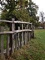 Deer fencing, Charlecote Park - geograph.org.uk - 1568928.jpg