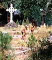 Deer in McCloud, CA Cemetery 2000 (6390810815).jpg