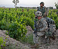 Defense.gov News Photo 110428-A-WN593-015 - U.S. Army Spc. Joseph Wilhelm right with Headquarters and Headquarters Company 2nd Battalion 502nd Infantry Regiment 101st Airborne Division.jpg