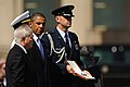Defense.gov News Photo 110630-F-RG147-407 - President Barack Obama presents Secretary of Defense Robert M. Gates with the Presidential Medal of Freedom the highest civilian award a president.jpg