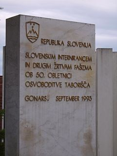 Gonars concentration camp