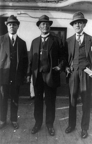 Victoriano Huerta - José C. Delgado, Victoriano Huerta and Abraham F. Ratner.