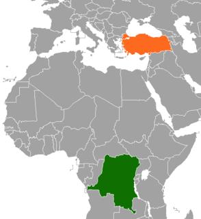 Democratic Republic of the Congo–Turkey relations Diplomatic relations between Democratic Republic of Congo and the Republic of Turkey