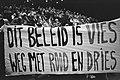 Demonstratieve bijeenkomst CNV in Jaarbeurs in Utrecht, Bestanddeelnr 932-3071.jpg