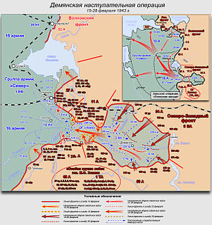 Battle of Demyansk (1943)