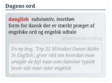 danske udtryk og vendinger