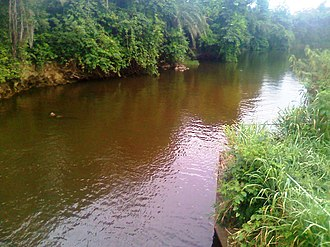 Densu River - Image: Densu River 5