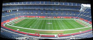 Sports Authority Field at Mile High - The field at Sports Authority Field at Mile High.