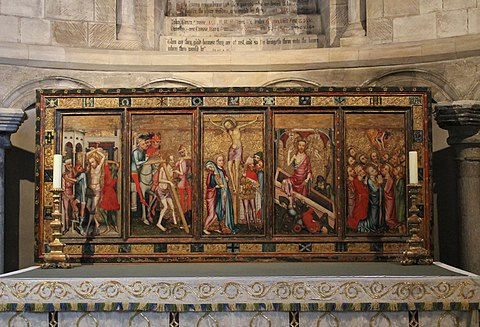 Despenser reredos, Norwich Cathedral, England.[4]