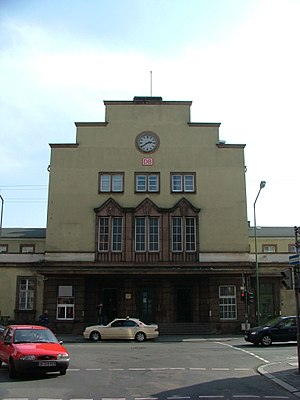 Offenbach (Main) Hauptbahnhof - Image: Diba bahnhof offenbach 11
