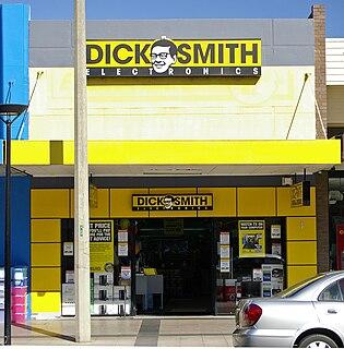 Dick Smith (retailer) international electronics retailer