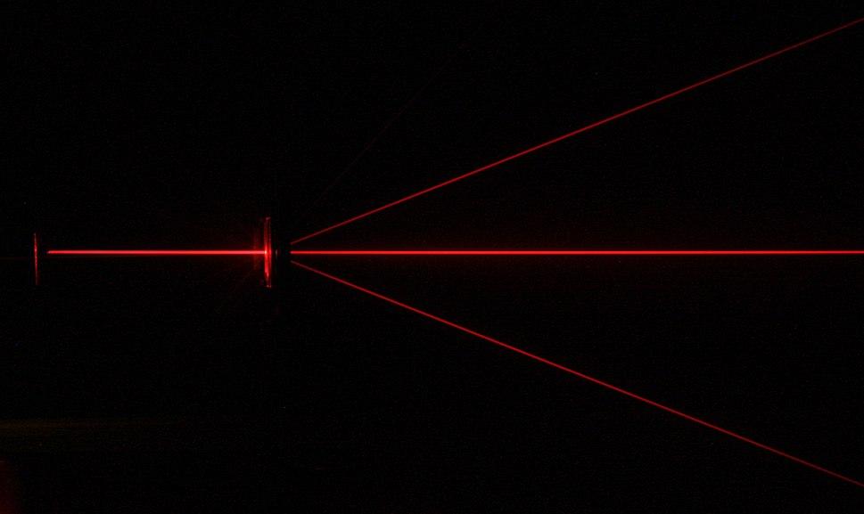 Diffraction-red laser-diffraction grating PNr°0126