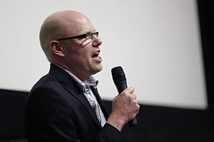 You've Been Trumped - Image: Director Anthony Baxter at 2013 MIFF