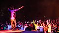 Divine Raaga fans singing along during a concert.jpg