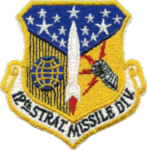 12th Air Division - Image: Division 012th Strategic Missile
