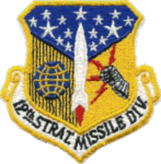 12th Air Division - Image: Division 012th Strategic Missile