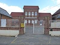 Dohem (Pas-de-Calais, Fr) mairie, école communale.JPG