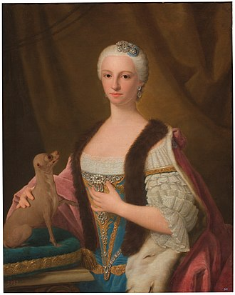 Princess of Piedmont - Image: Domenico, Duprà Maria Antonia of Spain Prado